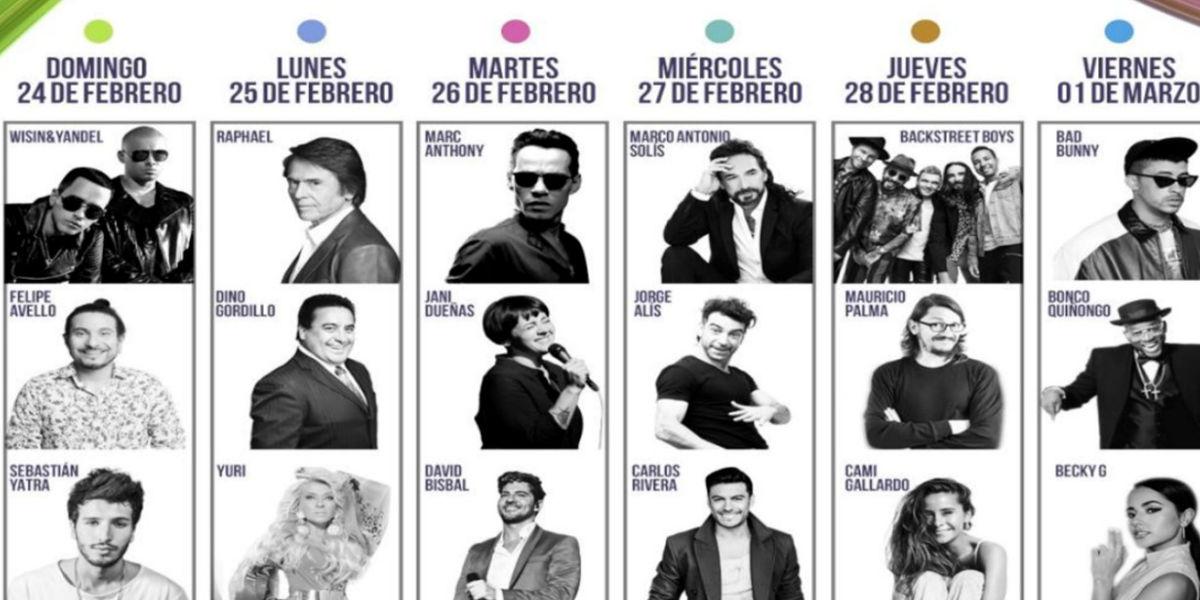 Llega a Canal 1 El festival latino más grande del mundo