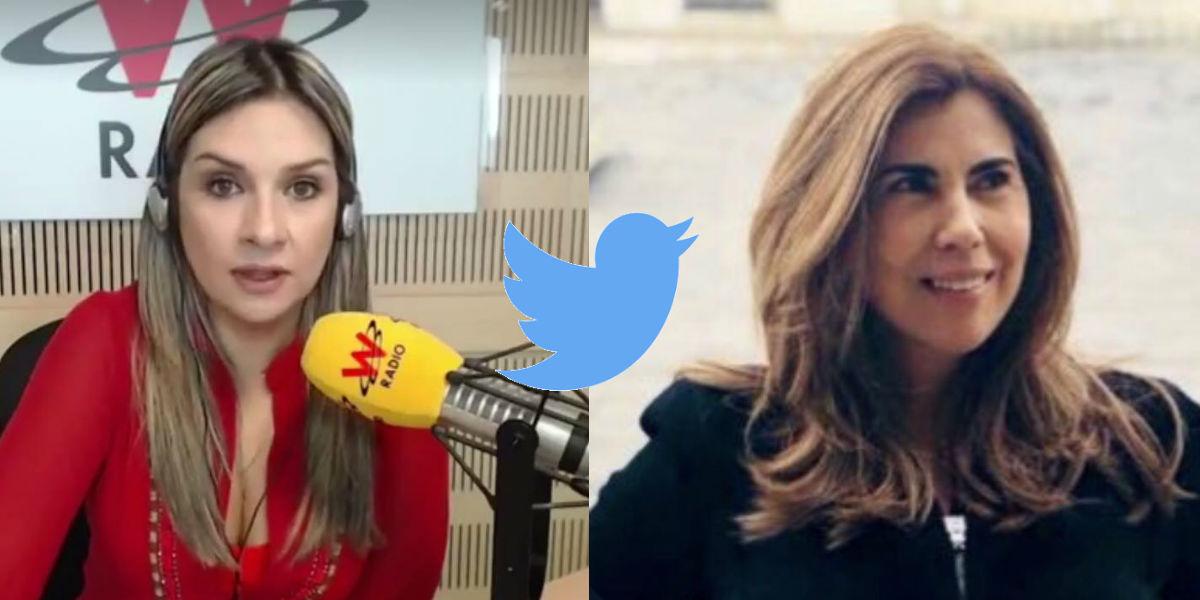 El 'encontronazo' entre Vicky Dávila y la directora del Centro Democrático; la periodista exige sanciones