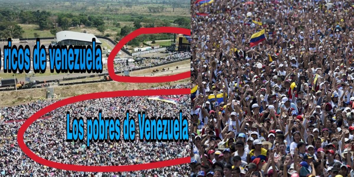 Gustavo Petro vuelve a arremeter contra el 'Venezuela Aid Live'