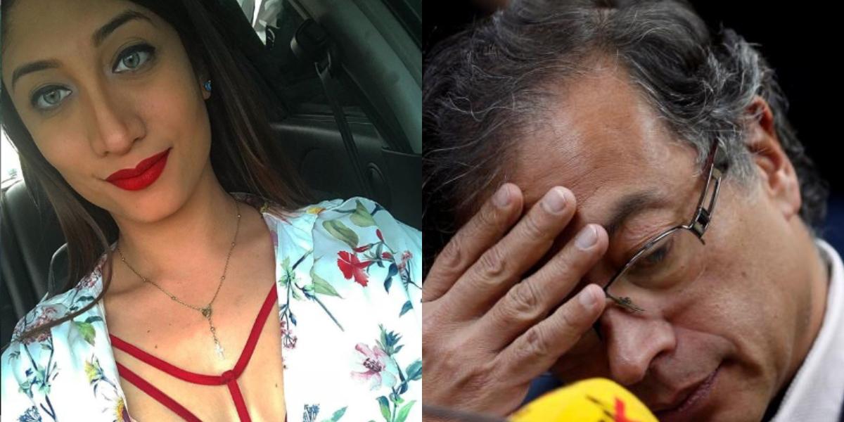La falsa cuenta en Twitter de Oriana que hasta Gustavo Petro compartió