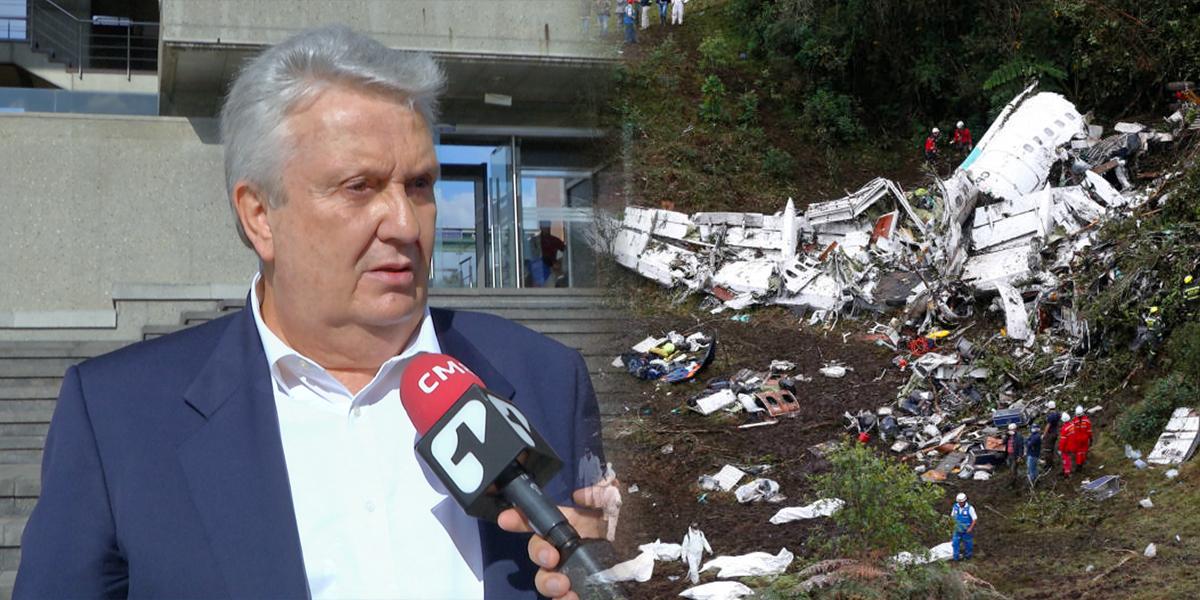 Demandan a la nación por tragedia de Chapecoense