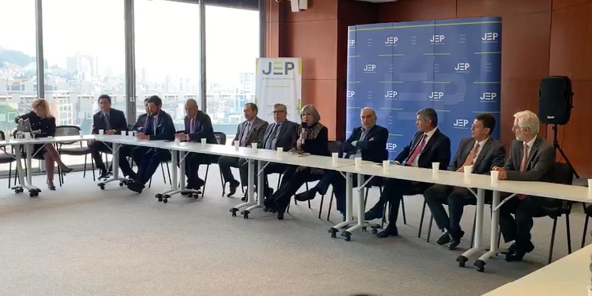 Partido Liberal expresa respaldo a magistrados de la JEP