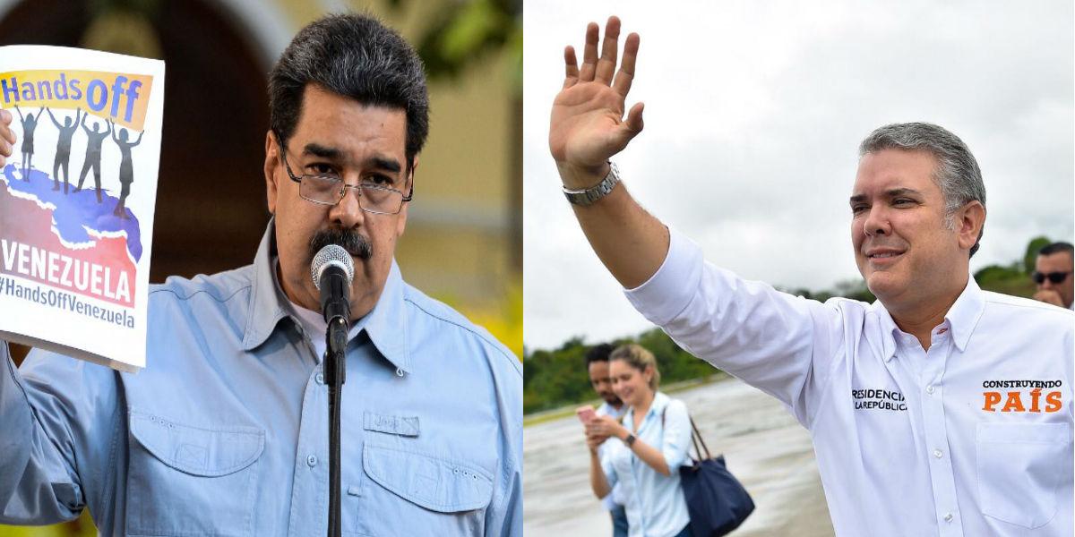 «¡Métete conmigo!», dice Maduro a Duque tras vetar a un artista venezolano