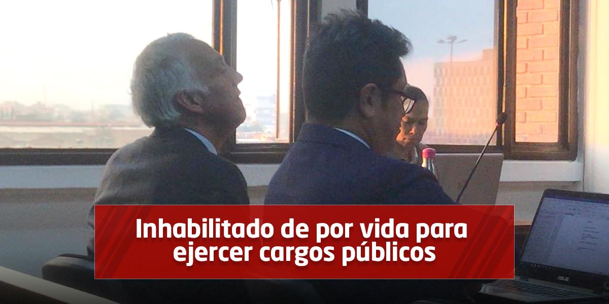 Samuel Moreno condenado a 39 años y 8 meses de prisión