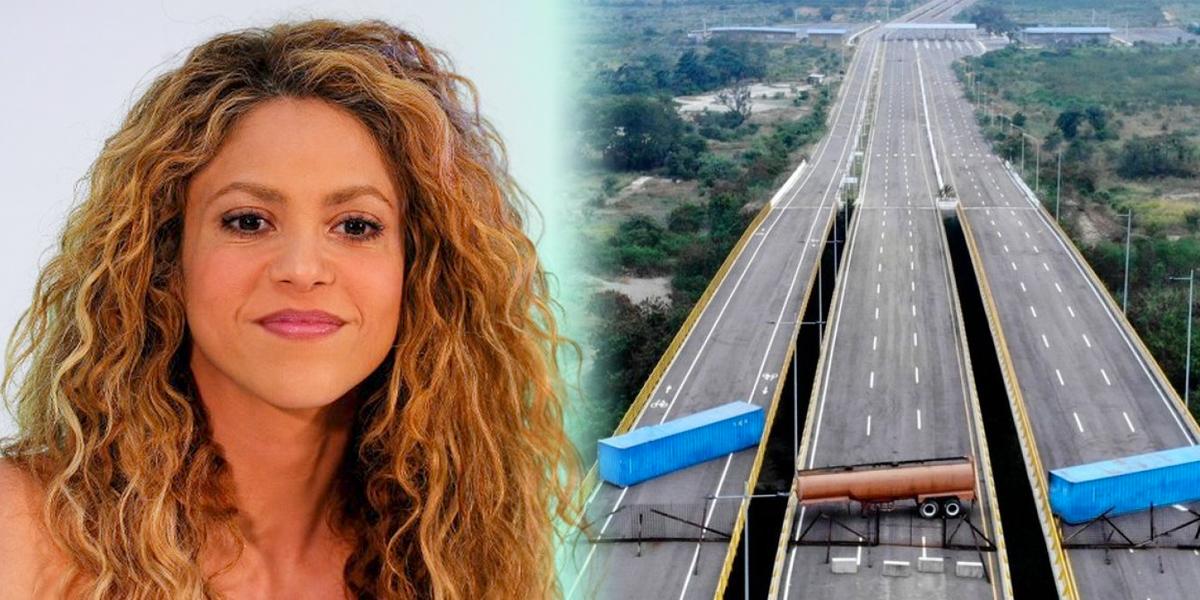 Shakira pide que se abran las fronteras para ingreso de ayuda humanitaria a Venezuela
