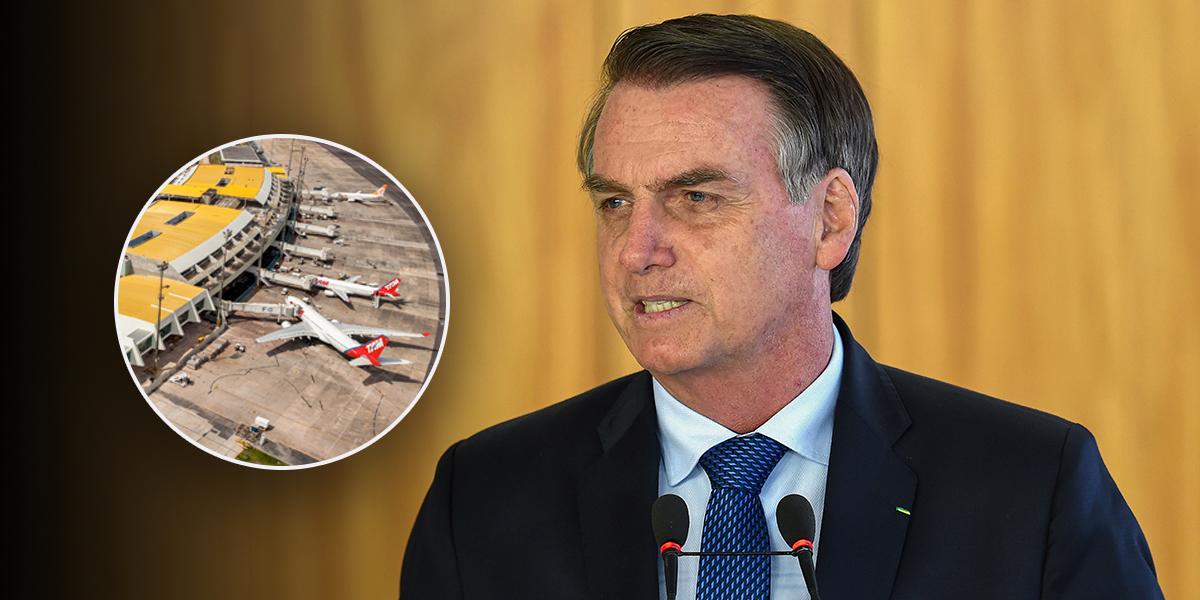 Jair Bolsonaro confirma subasta de 12 aeropuertos de Brasil para el mes de marzo