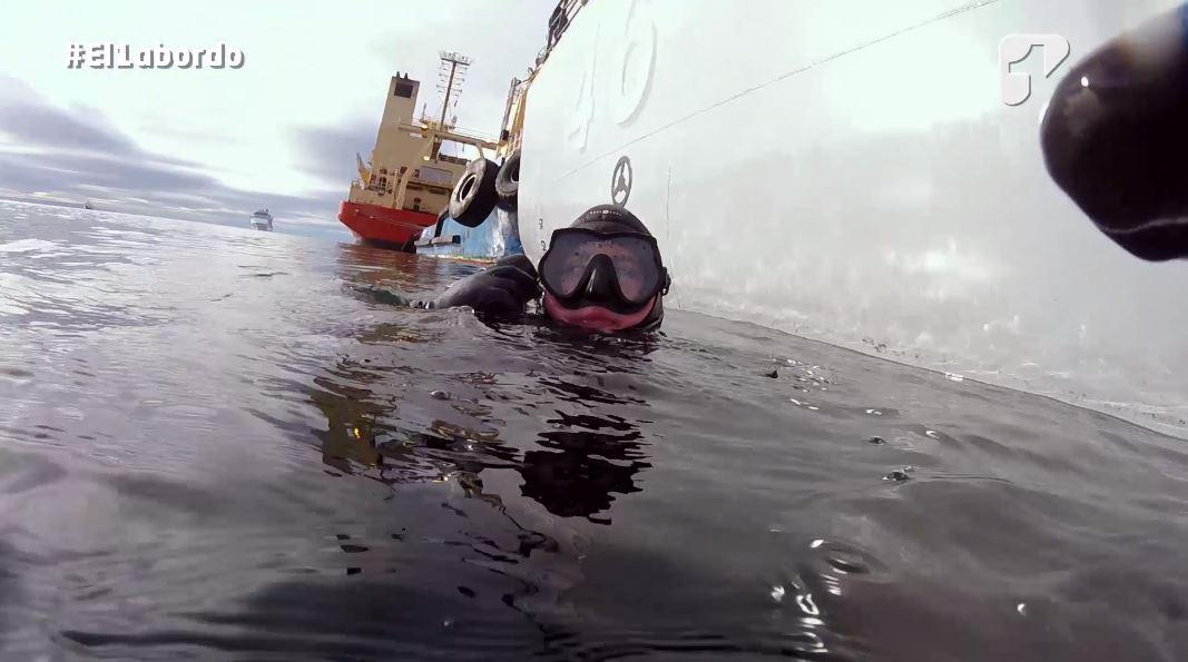 buzos antartida