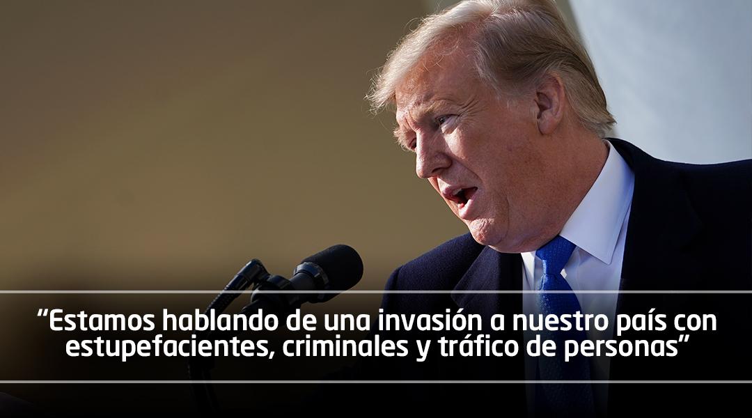 Trump declara la emergencia nacional en EE.UU. para construir muro en frontera con México