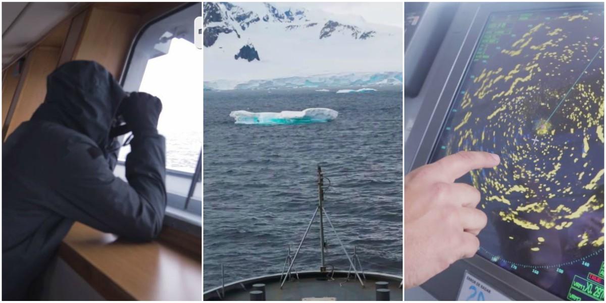iceberg como titanic antartida expedicion colombia