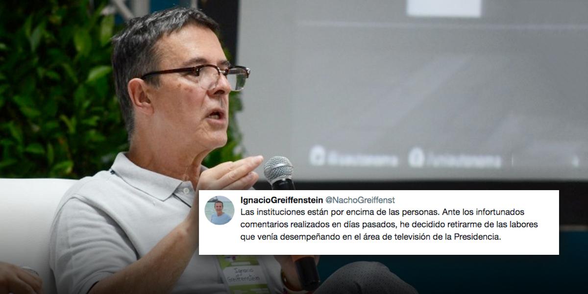 Renuncia el director de Televisión de la Presidencia tras insultar a mujeres petristas