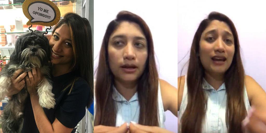 Oriana Gutiérrez y su contundente respuesta al video viral sobre sus senos