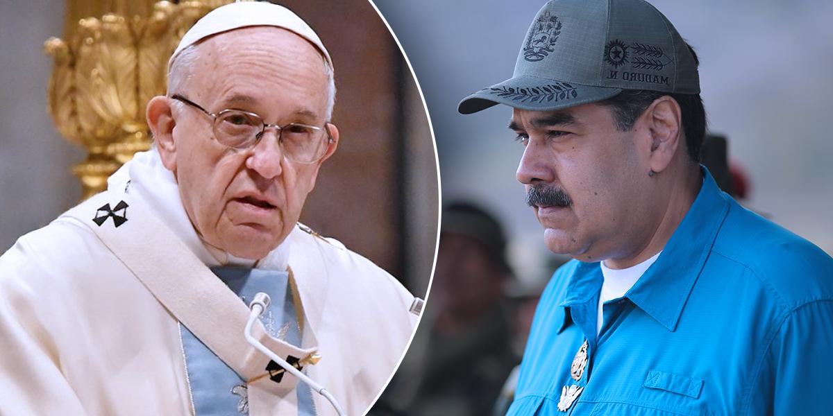 Maduro dice que ha pedido al papa ayuda para el diálogo en Venezuela
