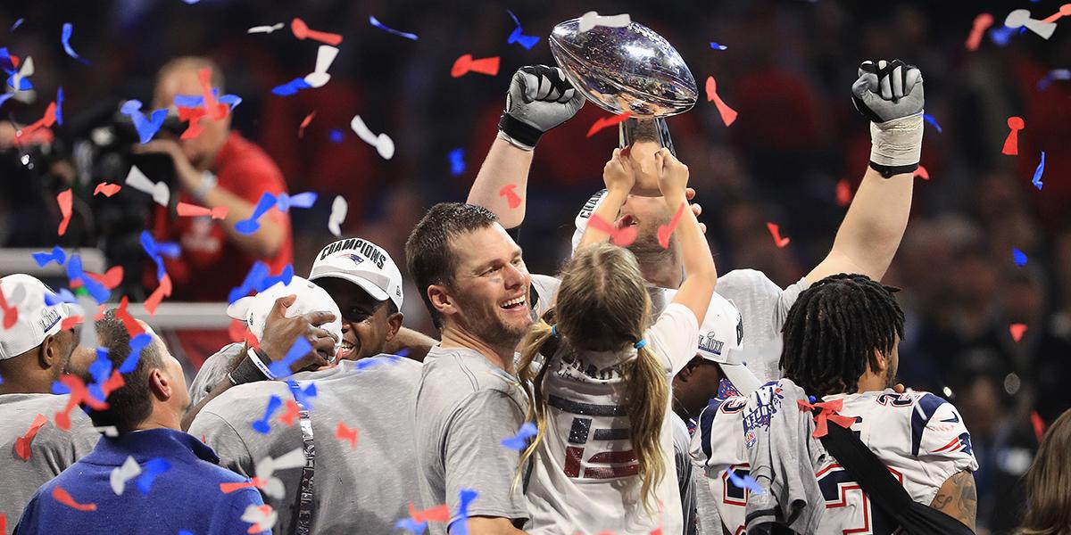 Patriots vencen a Rams y agrandan su leyenda con sexto título de Super Bowl