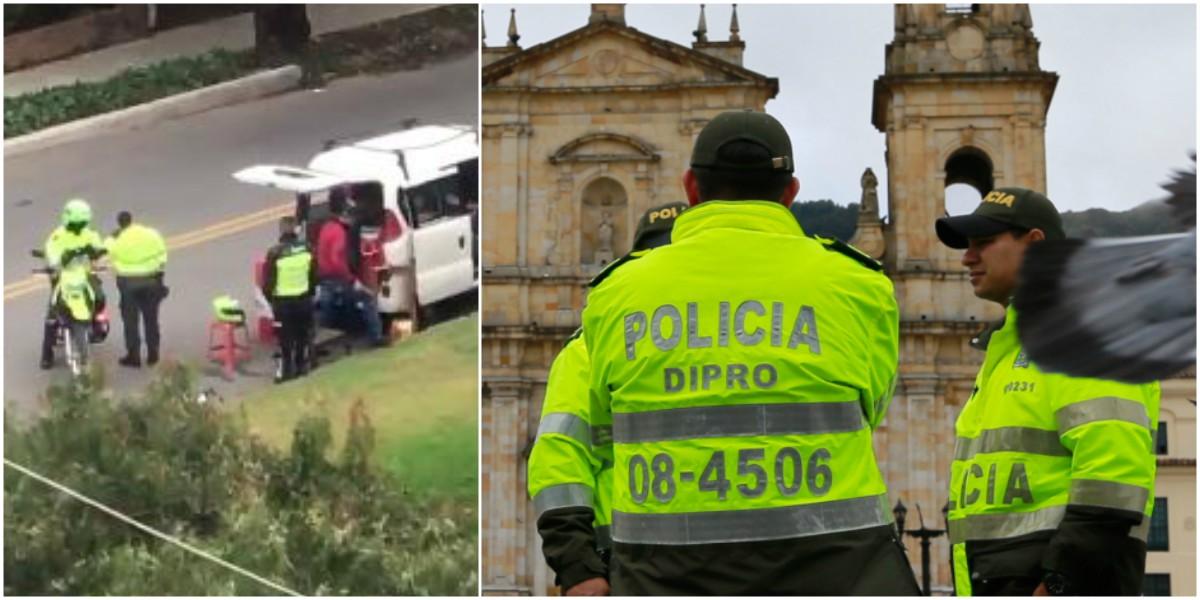 policias empanadas no puedne comprar a vendedores ambulantes