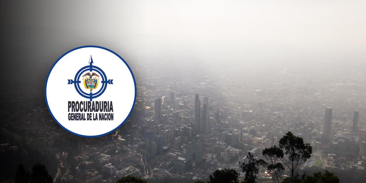 Procuraduría pide a Peñalosa planes de acción preventivos por alerta de calidad del aire