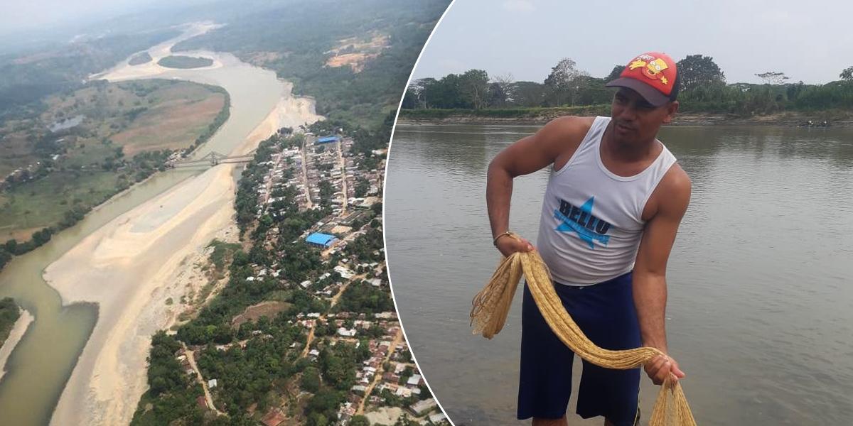 Crisis del río Cauca por Hidroituango afecta a más de 3500 pescadores