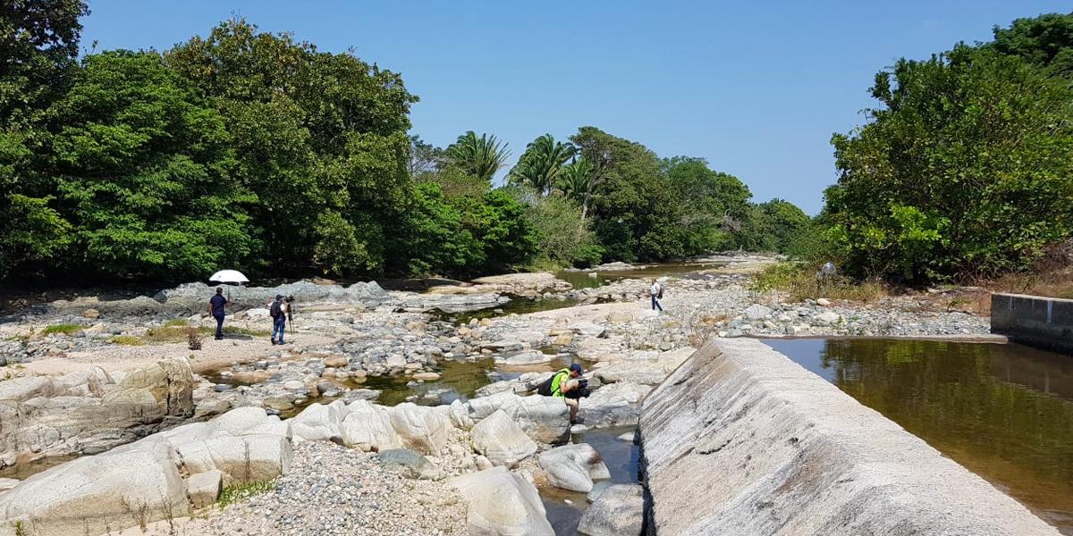 Preocupación por sequía del río Tapia en Riohacha
