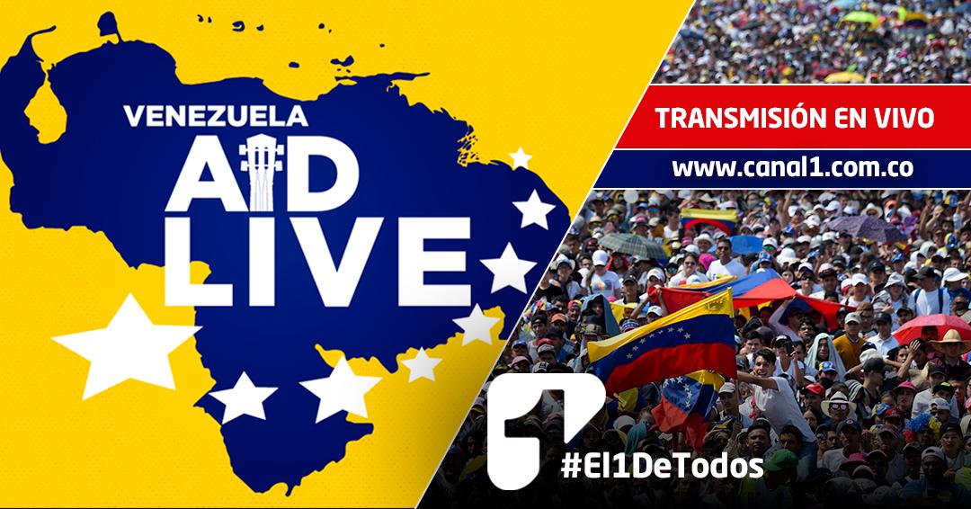 ¡EN VIVO! Así se vive todo el concierto de 'Venezuela Aid Live'