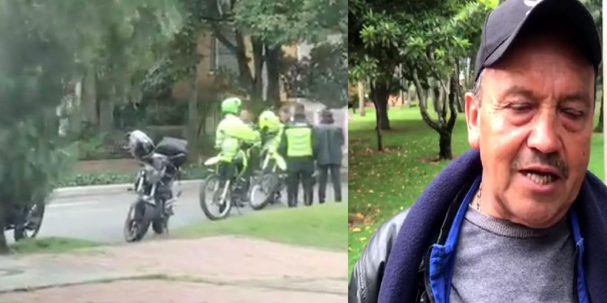 El operativo policial para multar a un vendedor de empanadas de 66 años
