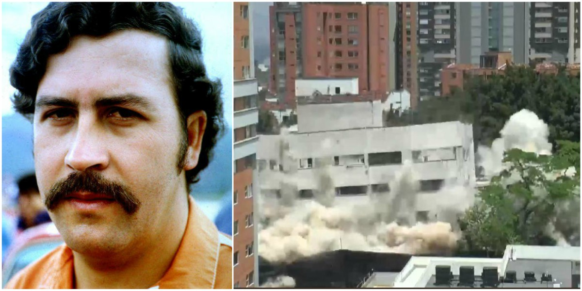 videos virales implosion edificio monaco medellin