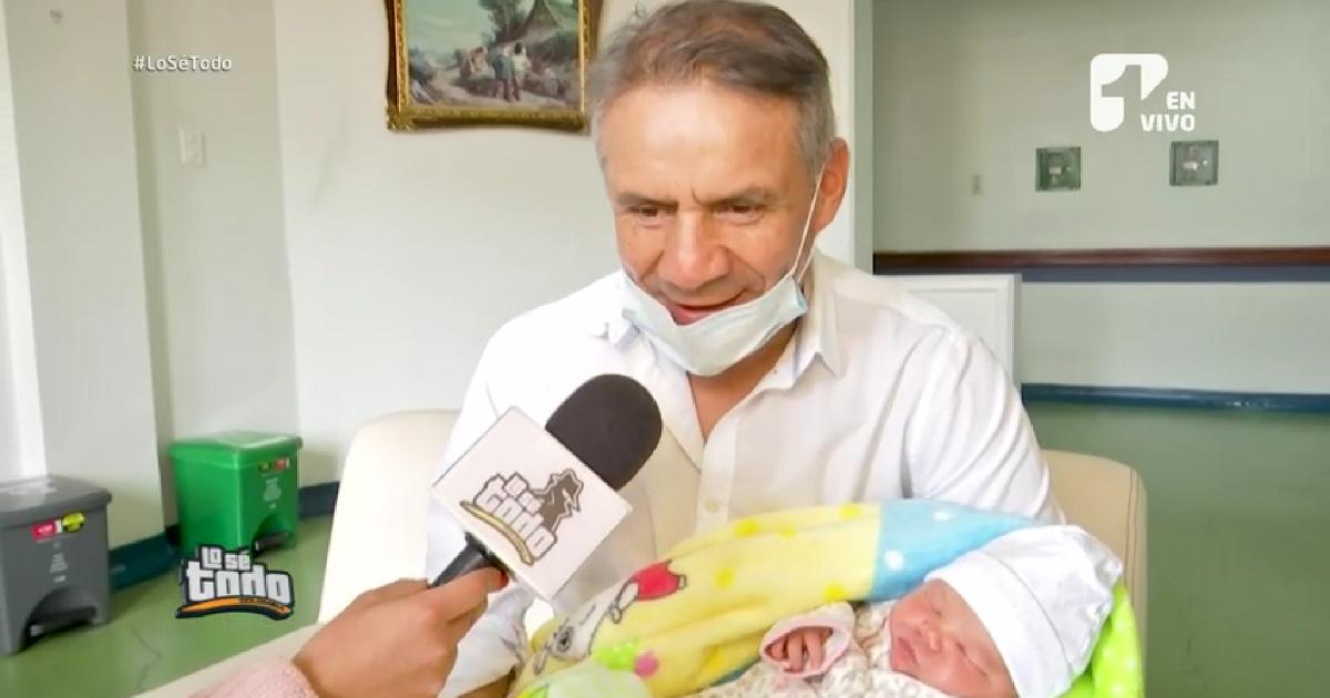 'Alerta' se estrena como abuelo y nos contó todos los detalles en Lo Sé Todo