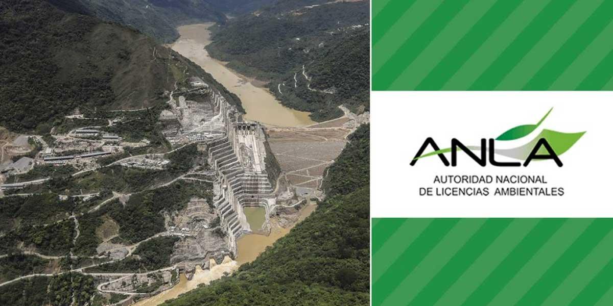 ANLA sanciona a Hidroituango con más de $ 4 mil millones por presunta obstrucción de fuente hídrica