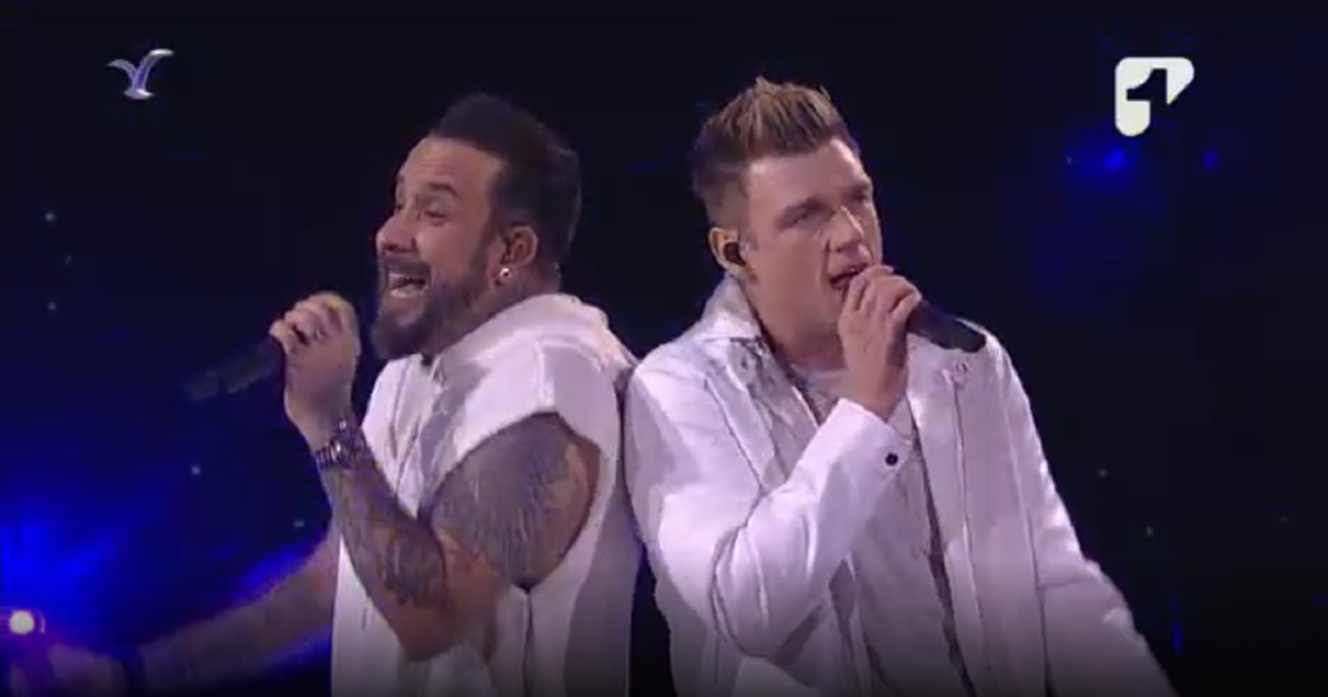 Los Backstreet Boys la rompieron en Viña del Mar: revive su presentación