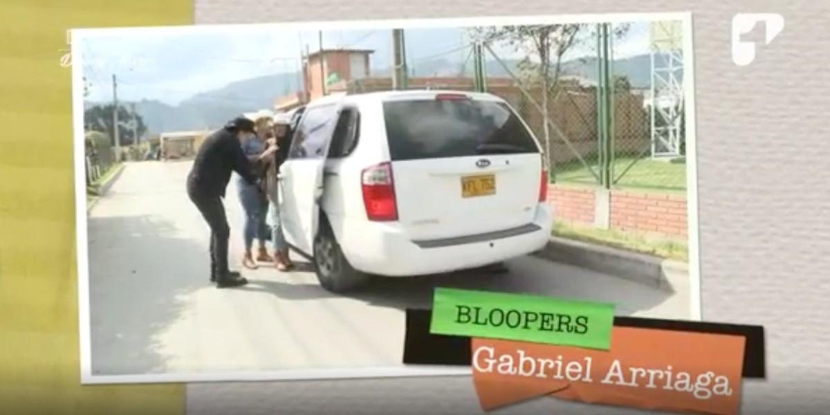 Los divertidos bloopers que dejó Gabriel Arriaga en De Fiesta con Danny
