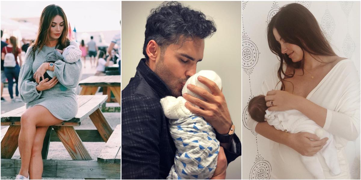 Lacigüeña llegó recargada en el 2019y estos son los famosos que ya son papás