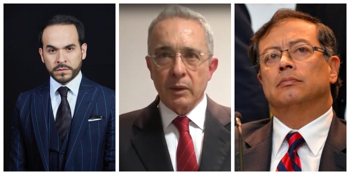 "Por ""matoneo sistemático y calumnia"" Uribe denuncia penalmente a Petro"
