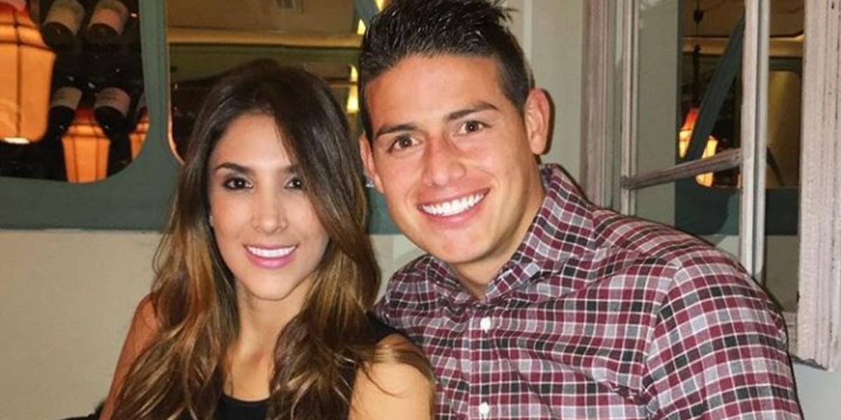 Daniela Ospina quiere a James de regreso en España, pero no en el Real Madrid