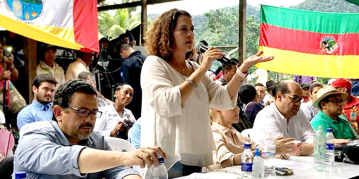 Gobierno inicia diálogos con 5000 indígenas en Buenaventura