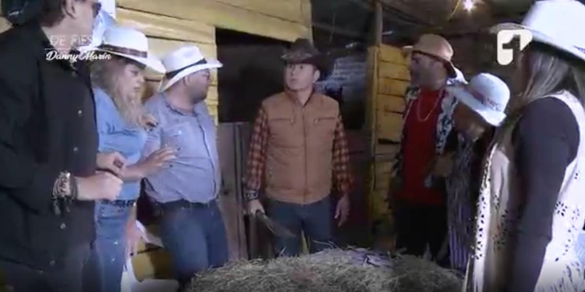 A Gabriel Arriaga le tocó sacar el machete para evitar una estafa de Danny Marín