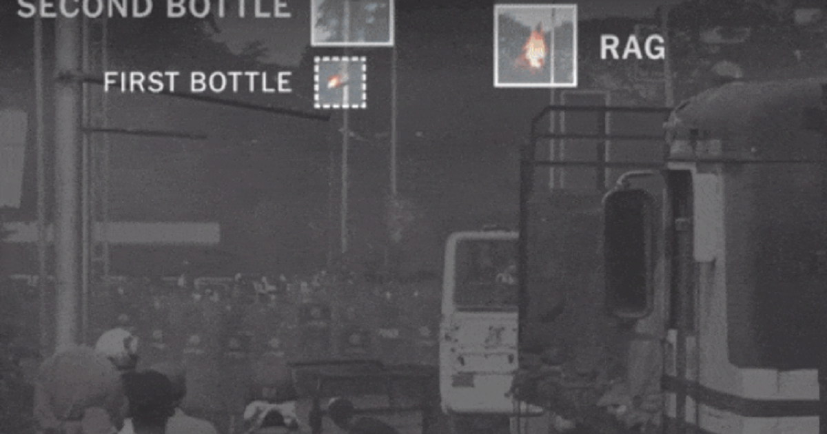 El video que demostraría que Maduro no fue responsable de incendio de ayuda humanitaria