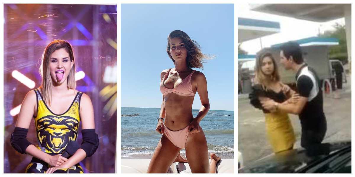 La exparticipante Sara Villareal protagonizó escándalo en espacio público por estar pasada de tragos