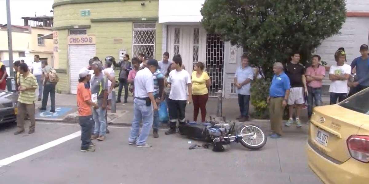 A diario se presentan 10 accidentes de tránsito en Bucaramanga