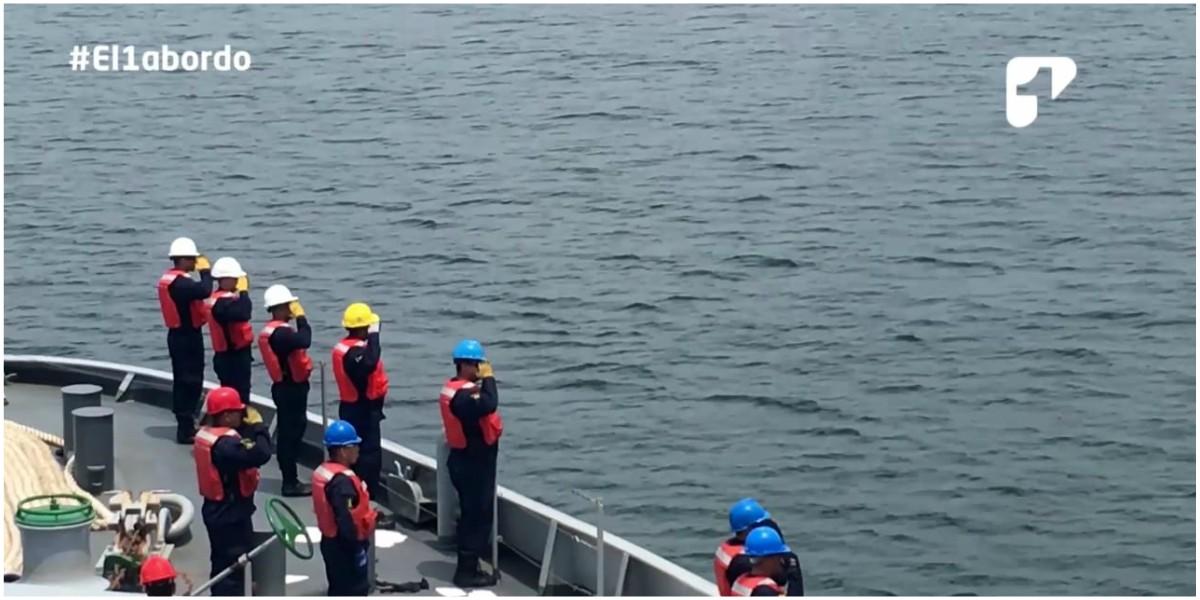 armada colombia volvio de la antartida