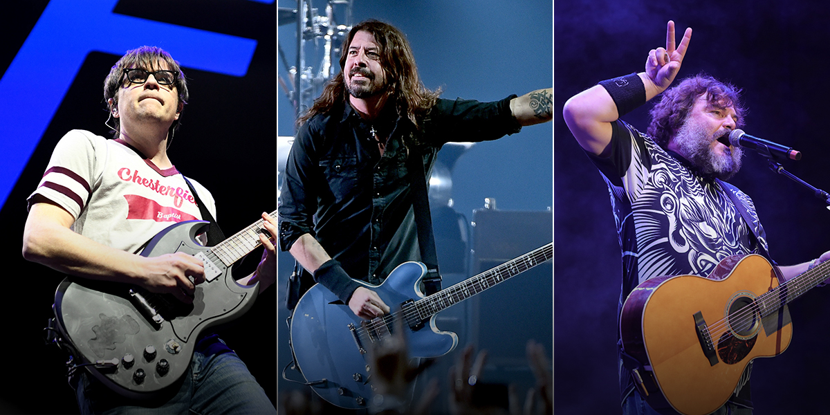 Foo Fighters regresa a Colombia junto con Weezer y Tenacious D