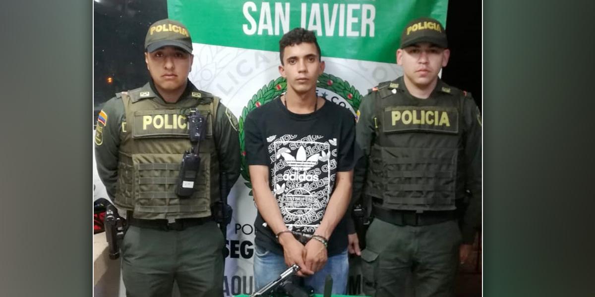 Un capturado por secuestro de taxista en la Comuna 13 de Medellín