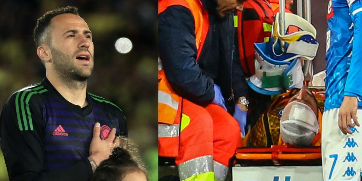 David Ospina es dado de alta y está fuera de peligro