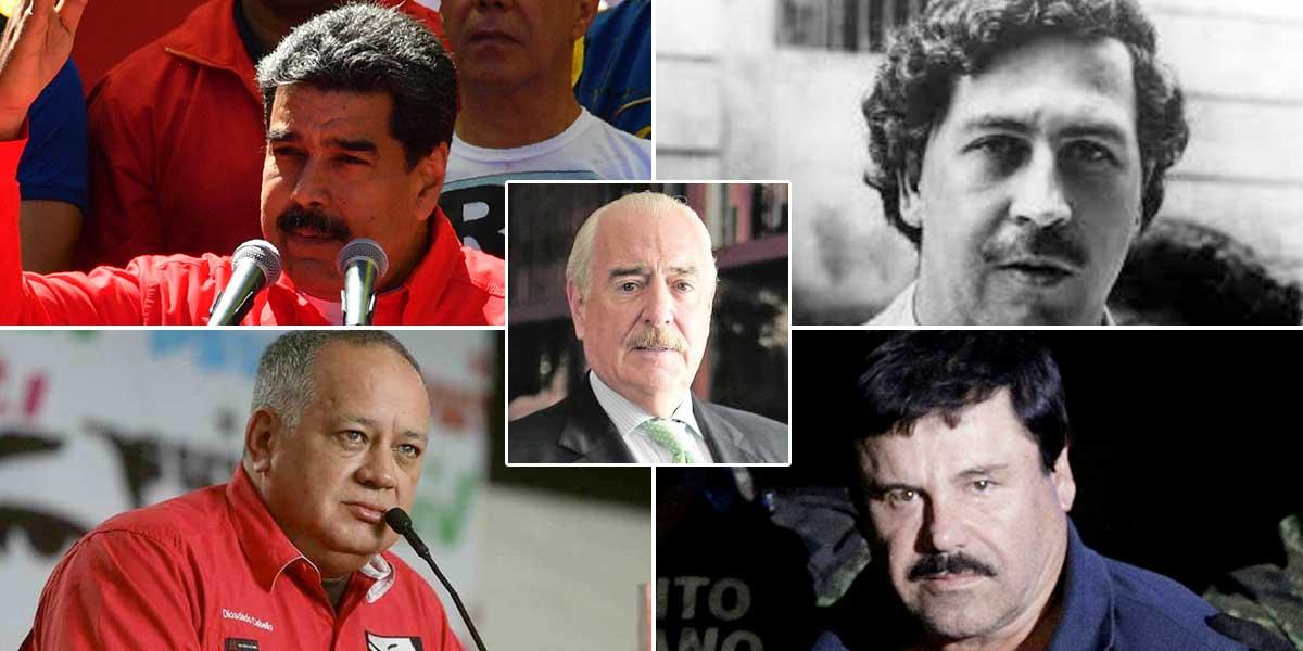 Expdte. Pastrana asegura que Maduro es Pablo Escobar y Cabello es El Chapo