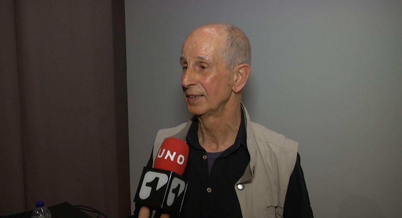 Horst Hohesiel visitó contramonumento construido en honor a las víctimas del conflicto en Colombia