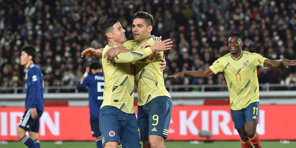 Con gol de Falcao, Colombia derrota a Japón 1-0 en encuentro amistoso