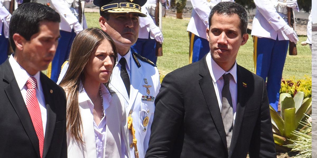 Esposa de Guaidó denuncia ataque contra el líder opositor en Caracas