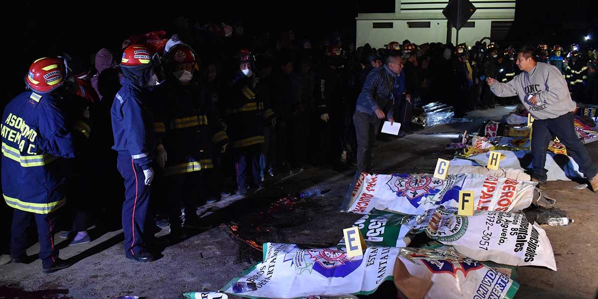 Un camión atropella a un grupo de personas y deja 18 muertos en Guatemala