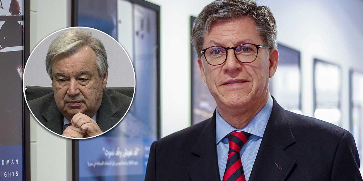 Vivanco insta a Guterres a 'tomar partido' ante crisis humanitaria en Venezuela