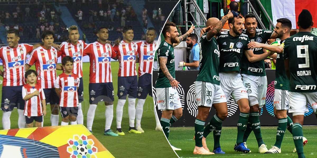 Hoy Junior y Palmeiras reeditan su debut en Copa Libertadores