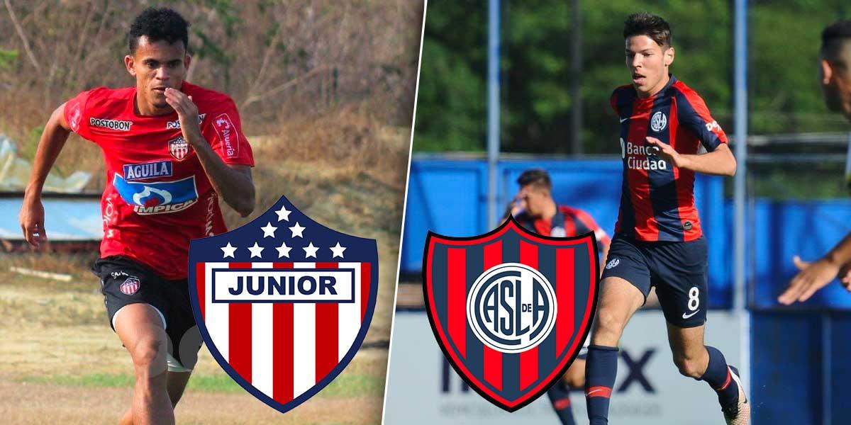 Hoy Atlético Junior visita a San Lorenzo por Copa Libertadores