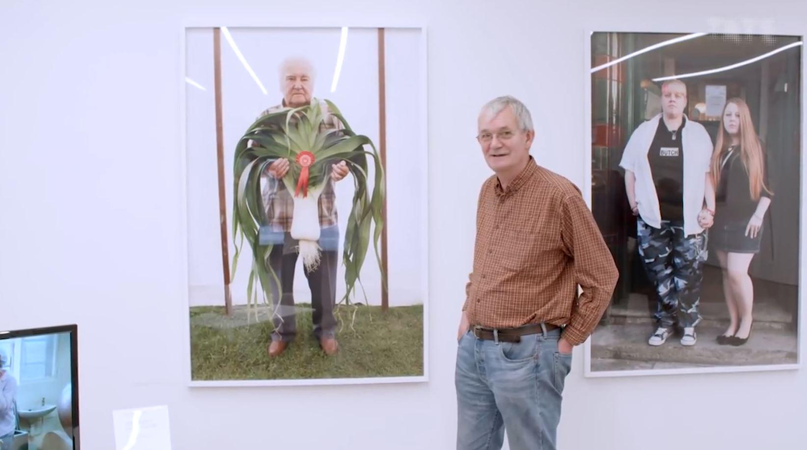 """Martin Parr, el ícono de la fotografía contemporánea presentó """"souvenir"""""""