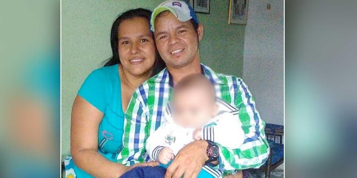 Asesinan a menor de 2 años y a su padre en Suaza, Huila
